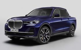 BMW изригна с пикап версия на Х7. За жалост, ще си остане единствен екземпляр