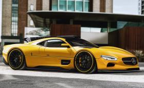 Нарисуваха модерен наследник на Mercedes CLK GTR. Изглежда страхотно и го искаме на пътя!