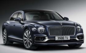 Това е чисто новият Bentley Flying Spur - нищо, че е идентичен с предишния