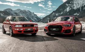 Abt събра RS2 Avant и RS4 Avant - раздвоени сме, и двете са маниашки, но коя е по-брутална?
