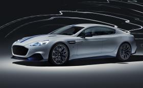 Новият Aston Rapide E има 612 к.с. и 950 Нм, а в техническите му характеристики пише 500 км/ч