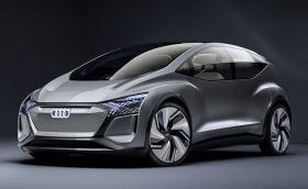 Новото автономно Audi има саксии на борда и се казва AI:ME