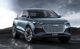 Q4 e-tron е на една година от магазините на Audi
