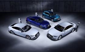 В Женева Audi вади плъгин хибриди на Q5, A6, A7 и A8