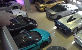 Отделете 22 минути на една от най-впечатляващите автомобилни колекции в света. 52 супер и хипер коли в гараж в Бахрейн