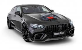 Brabus AMG GT 4dr вдига 100 км/ч за 2,9 секунди
