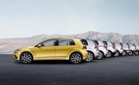 VW продава по един Golf на всеки 41 секунди. В продължение на 45 години… Вижте всяко поколение Golf дотук