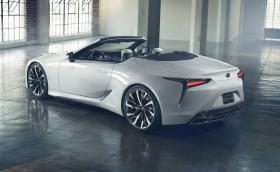 Lexus LC Convertible Concept е изкусително близо