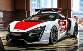 Lykan Hypersport официално е новата патрулка на Абу Даби