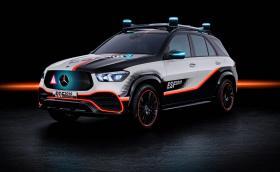 Mercedes GLE ESF 2019 има автономно движещ се авариен триъгълник и още доста хитри функции за безопасност