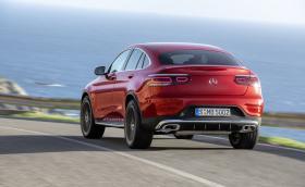 Merc обнови и GLC Coupe. Конкурентът на X4 идва с пет 2-литрови мотора