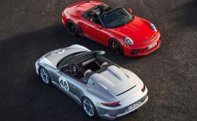 Новият 911 Speedster влиза в производство - 510 к.с. и ограничена серия