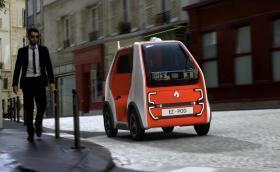 Renault EZ-POD не е точно кола. Поне не по начина, по който познаваме колите…