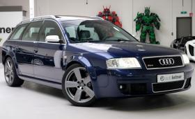 Това прекрасно 2002 Audi RS 6 Avant е на 2 хил. км и се продава за 116 хил. лв.