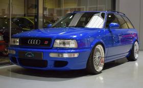 Холандци възстановиха Audi RS2 Avant до фабричен блясък. Снимките са си чисто порно