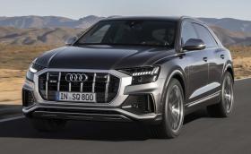 Дебют за Audi SQ8 - лек дизелов хибрид с 429 к.с. и 900 Нм