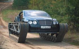 Междувременно в Русия Bentley се качва на вериги
