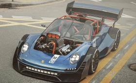 Porsche 911 с трансплантиран V8 HEMI отпред - кощунство или адска машина?