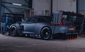 'Hillclimb GTR' e новата кола-чудовище на Franco Scribante Racing. Изкарва 1600 коня на колелата