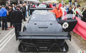 Мощният 1600 коня Nissan GT-R на FSR спечели изкачването Jaguar Simola Hillclimb