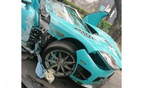 Счупиха един от двата Koenigsegg CCXR 'Special One' в Мексико. Колата струва(ше) $1,6 млн.