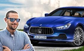 Караме най-мощното Maserati Ghibli. Видео!