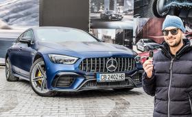 Караме бруталния Mercedes-AMG GT 63 S 4 door с 639 к.с.! Видео!