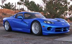 Ако Dodge Viper беше с централно разположен двигател, щеше да изглежда така