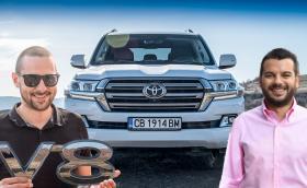 Toyota Land Cruiser V8: карахме хипер могъщата машина! Видео!