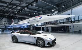 Aston Martin DBS Superleggera Concorde е посветен на свръхзвуковия самолет и използва части от него