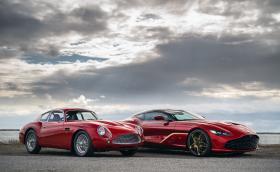 Aston Martin продава 19 чифта суперколи - модерна и ретро. Комплектът струва 6,7 млн. евро