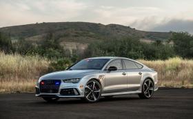 Развиващо 325 км/ч Audi RS 7 е най-бързата бронирана кола в света