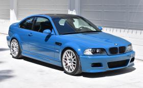 Не е евтина, но е отлична и на реални 26 хил. км - E46 M3 в цвят Laguna Seca Blue