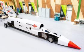 Bloodhound ще бъде тестван с 800 км/ч през октомври, пробват рекорд през 2020