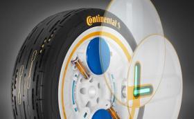 Continental разработва самонадуваща се гума