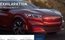 Ford Mustang Mach-E е SUV в кожата на Mustang. Изтекоха цените и повечето числа