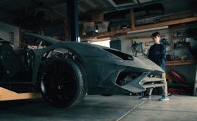 Баща и син правят реплика на Aventador на 3D принтер. Lamborghini им оставя истинската кола за няколко седмици. Видео