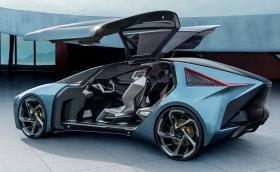 Искате ли Lexus с крилати врати? LF-30 е точно това. Електрически и автономен, естествено