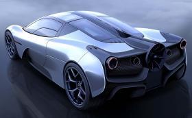 McLaren F1 вече официално има наследник от Гордън Мъри - ето го Automotive T.50 с перка на гърба