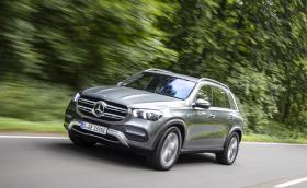 GLE 350 de - това е новият нафтово-електрически хибрид от Mercedes