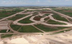 Nokian Tyres изгражда високоскоростна овална писта сред испанските полета - новият тестов център се движи по график