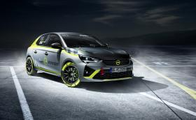 Първата достъпна електрическа рали кола в света: Opel Corsa-e