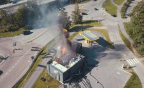 Пожар и експлозия на водородна станция в Норвегия, не знаят каква е причината