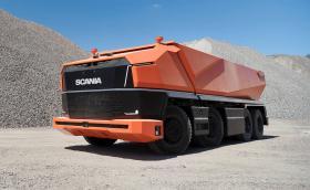 Scania AXL е огромен автономен самосвал. Вижте го в движение (Видео)