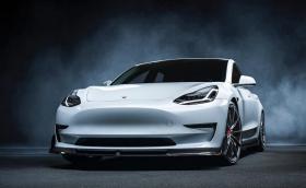 Tesla Model 3 от Vorsteiner всъщност е доста стилна