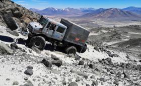 Unimog се качи за 6694 метра надморска височина в Атакама, което е нов рекорд