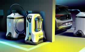 VW ще зарежда колите ни с роботчета, които щъкат из паркингите на моловете