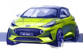 Това не е нова рали кола, а първа скица на следващото поколение Hyundai i10
