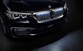Решетката на BMW Серия 5 ще свети в тъмното... ох!