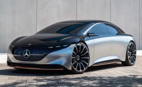 IAA: Mercedes открадна шоуто с впечатляващия Vision EQS